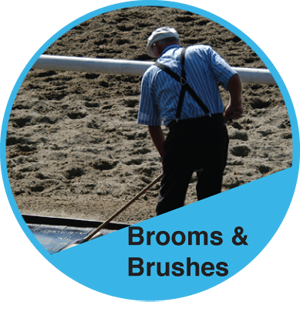 Brooms, Brushes & Accessories